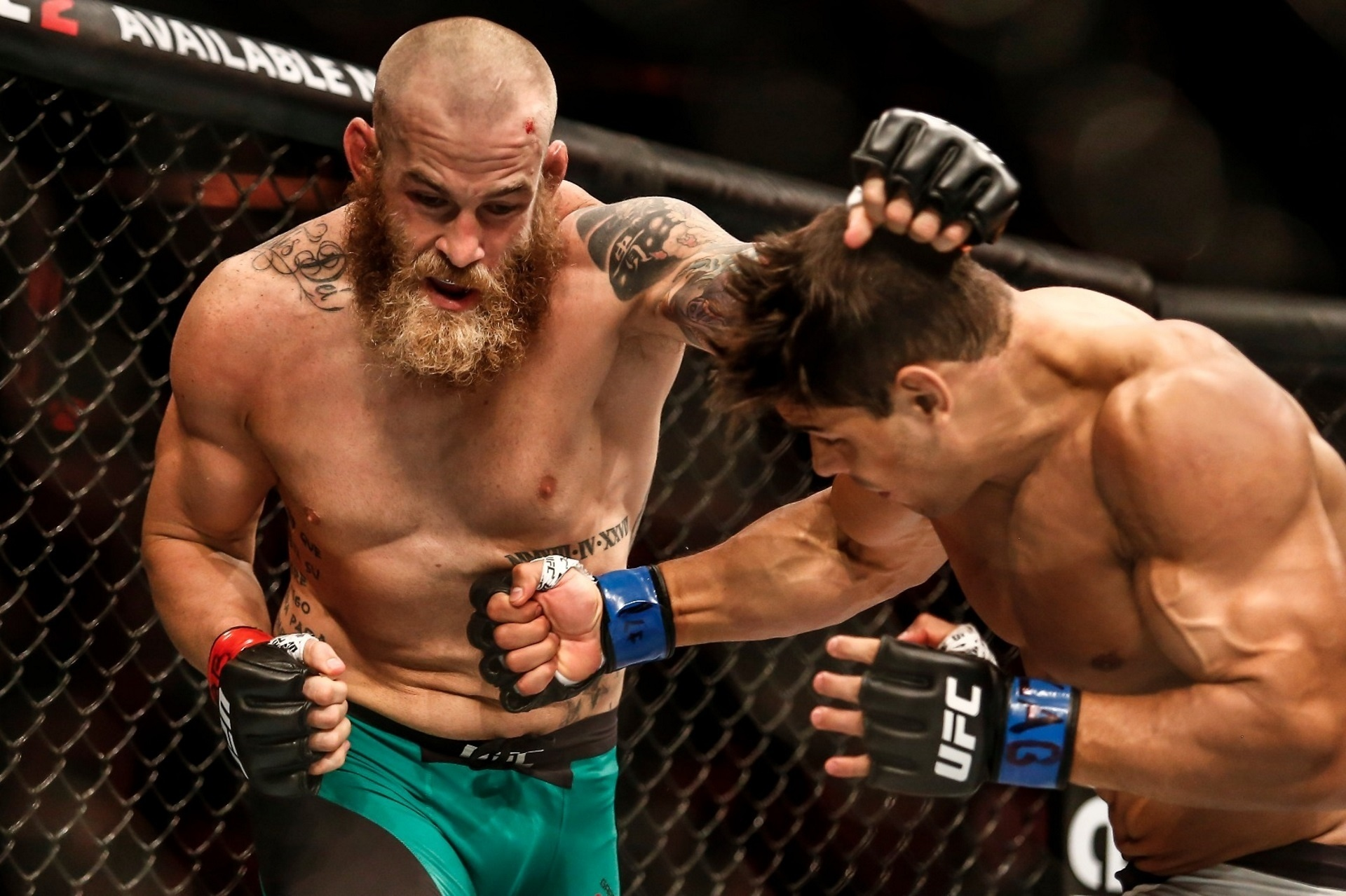 McLellan e Borrachinha se enfrentam no UFC Fortaleza