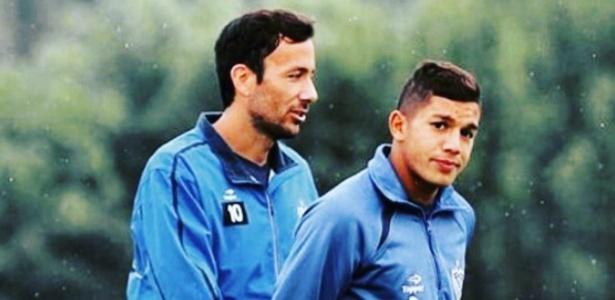 Lucas Romero e Ariel Cabral são grandes amigos no Cruzeiro