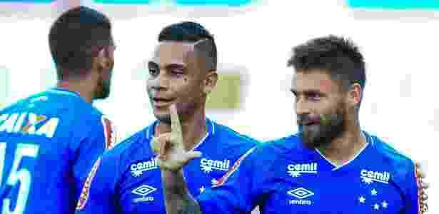Sobis marcou o segundo gol do Cruzeiro na partida contra o Atlético-GO - Weimer Carvalho/Light Press/Cruzeiro - Weimer Carvalho/Light Press/Cruzeiro