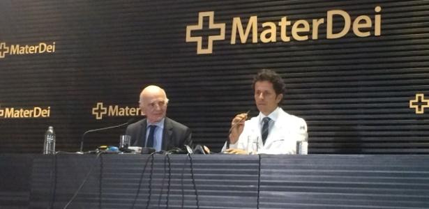 Presença de Rodrigo Lasmar foi comemorada pelo presidente atleticano