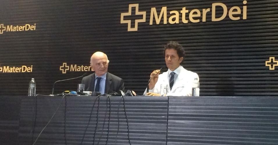 Rodrigo Lasmar Neymar cirurgia