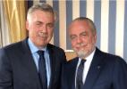 Napoli anuncia a saída de Sarri e oficializa Ancelotti como novo técnico - Divulgação