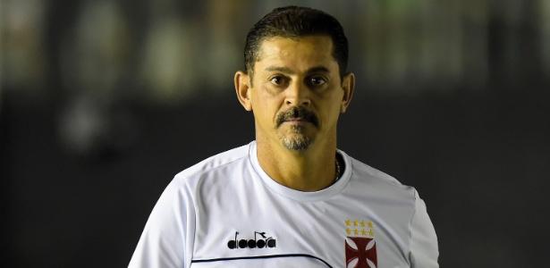 Valdir Bigode comandou o Vasco interinamente no empate em 1 a 1 com o Ceará - Thiago Ribeiro/AGIF