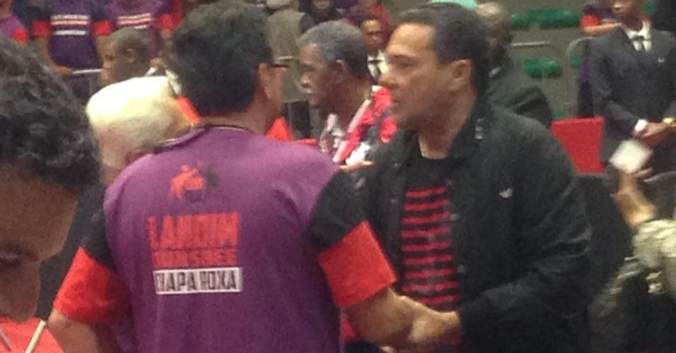 Flamengo Luxemburgo eleição