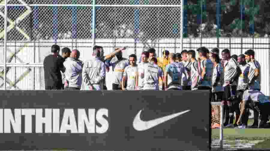 Elenco corintiano retoma os treinos de olho em amistosos nesta parada de Copa América - HENRIQUE BARRETO/FUTURA PRESS/ESTADÃO CONTEÚDO