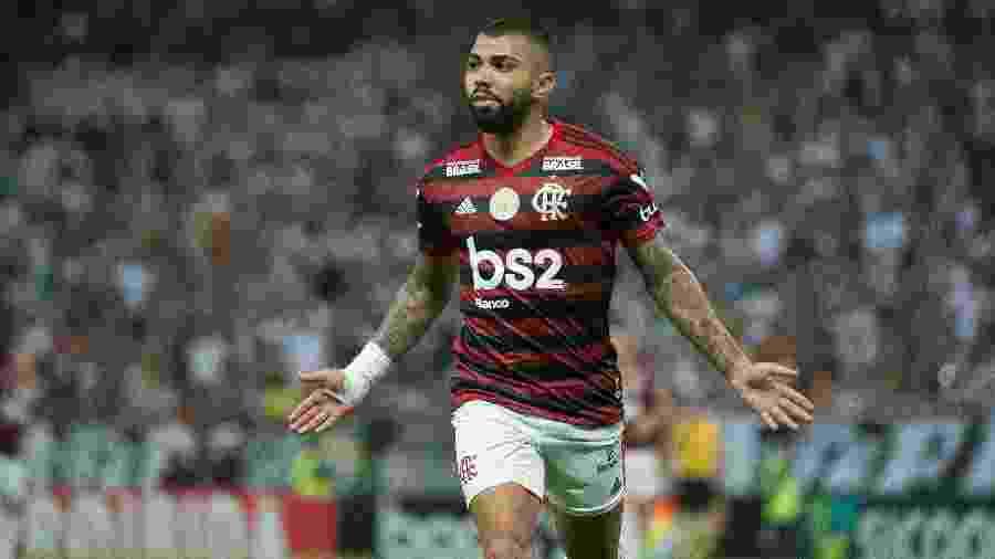 Gabigol marcou na vitória do Flamengo sobre o Ceará no primeiro turno - Alexandre Vidal/Flamengo