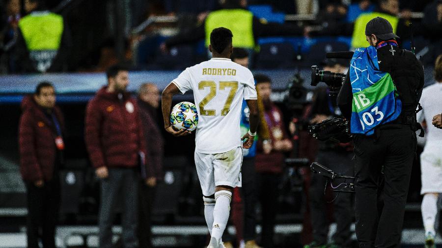 Trajetórias de Rodrygo e Neymar foram comparadas: ambos deixaram o Santos e brilharam na Espanha - Ricardo Nogueira/Eurasia Sport/Getty Images
