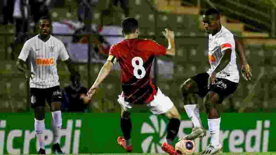 Corinthians e Athletico-PR se enfrentaram pelas quartas de final da Copa São Paulo - Rodrigo Gazzanel/Agência Corinthians