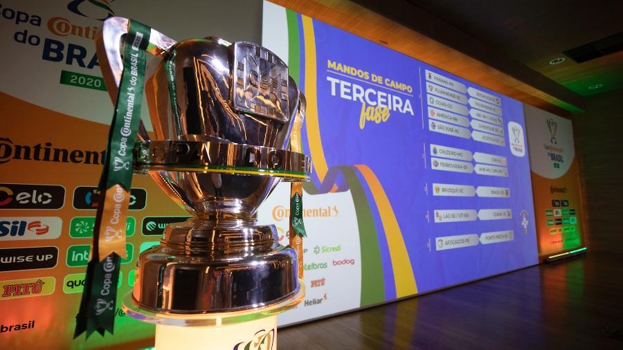 Taça da Copa do Brasil 2020 - Lucas Figueiredo/CBF
