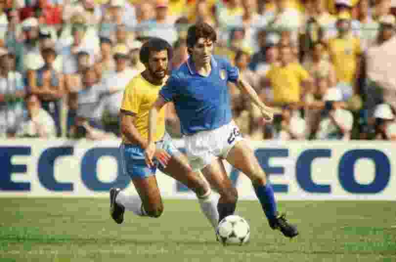 Paolo Rossi, pela seleção italiana - Arquivo/Folha Imagem