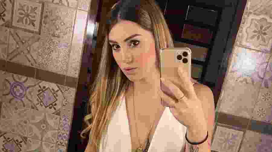Melody Pasini, namorada do ex-jogador do São Paulo Ricardo Centurión, morreu em acidente de trânsito - Reprodução/Instagram