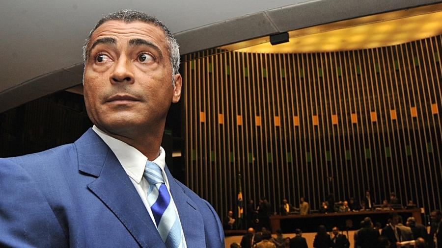 Romário, no Senado federal - Divulgação/La Liga