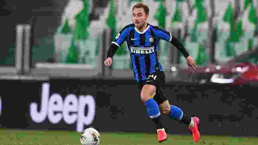 Meia dinamarquês chegou ao clube em janeiro, mas não consegue engatar sequência como titular - Claudio Villa - Inter/Inter via Getty Images