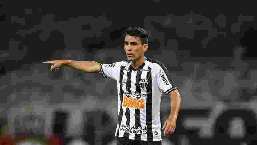 Junior Alonso, zagueiro do Atlético-MG, deve seguir titular contra o Vasco - Pedro Souza/Atlético-MG