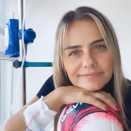 Rainha das embaixadinhas ficou uma semana hospitalizada no fim de 2020 - Reprodução