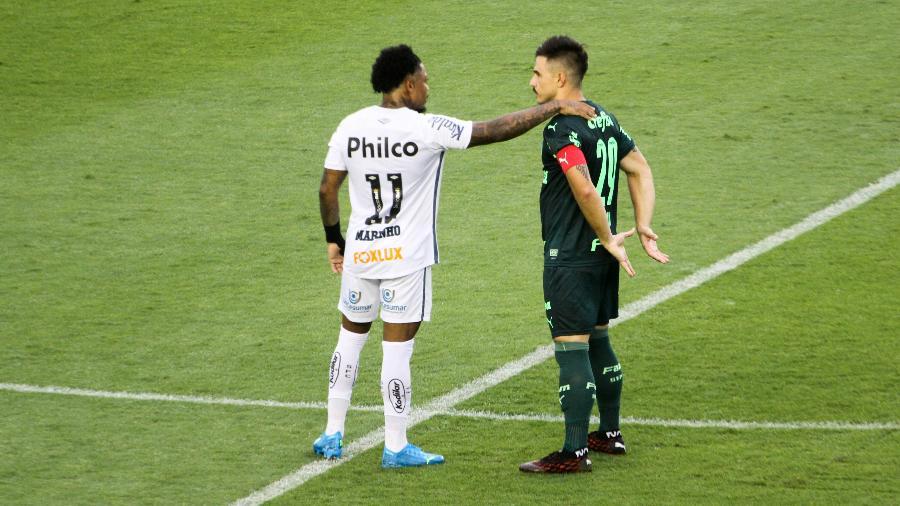 Palmeiras, de William, ou Santos, de Marinho? Quem é favorito para o confronto? - Fernanda Luz/AGIF
