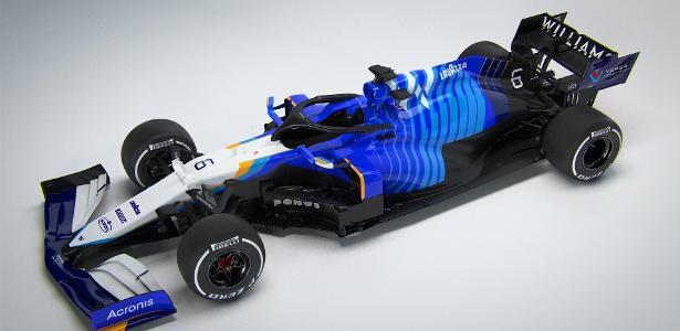 Williams apresenta seu carro novo | Ideia era lançar em app de realidade aumentada, mas ele foi hackeado
