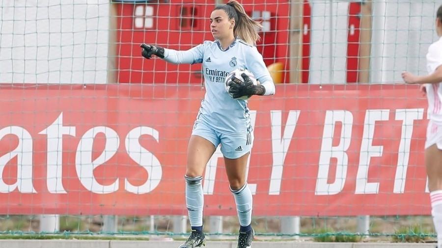 Misa Rodríguez, goleira da equipe feminina do Real Madrid - Reprodução/Instagram