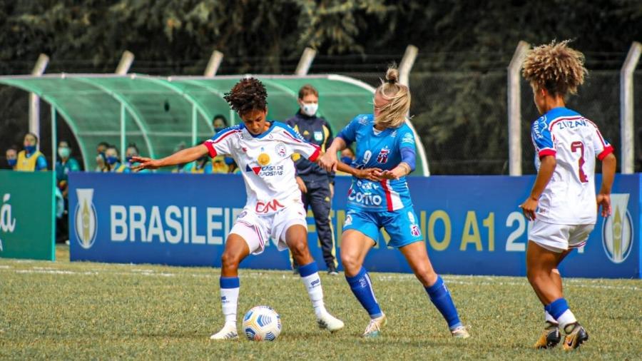 Bahia e Napoli empatam pelo Brasileirão feminino - Reprodução/Twitter