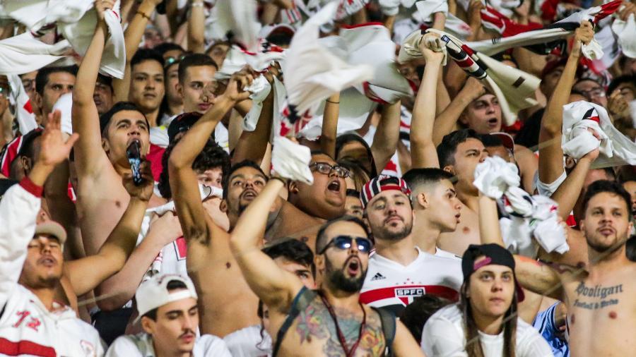 Estádio do Morumbi voltará a receber são-paulinos 575 dias após última partida com público, em março de 2020 - Marcello Zambrana/AGIF