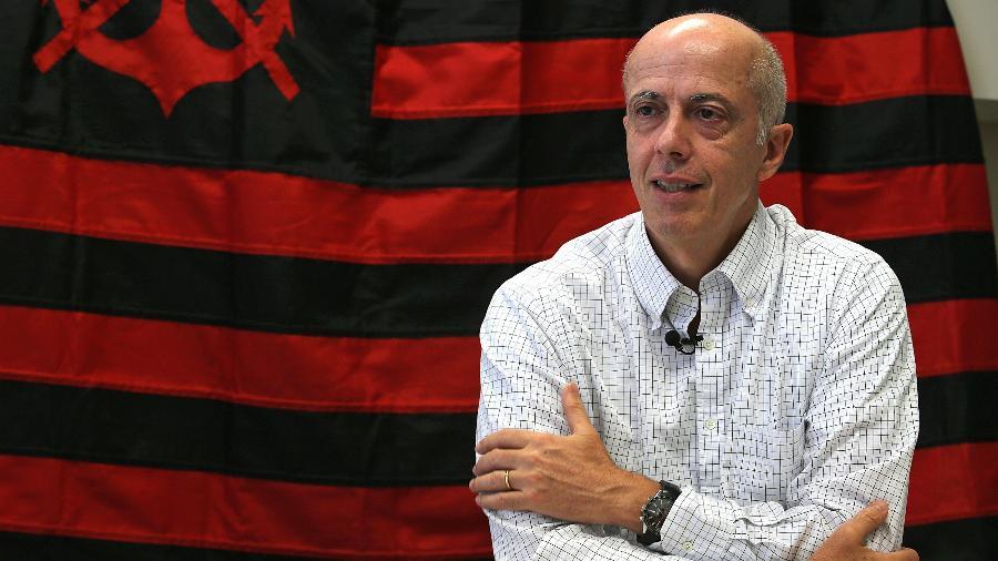 Wallim Vasconcellos rompeu com Bandeira de Mello e se candidatou à presidência do Flamengo pela Chapa Verde - Júlio César Guimarães/ UOL