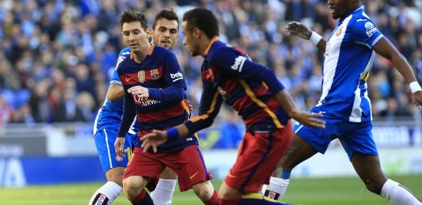 Clássico foi o primeiro jogo do Barça sem gol de trio titular desde fevereiro