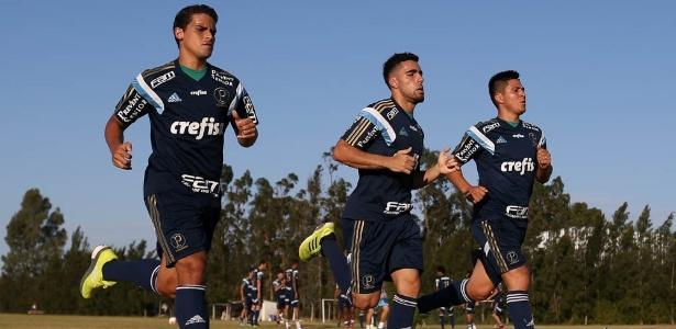Jean e Gabriel são exemplos da mescla entre experientes e jovens do elenco - Cesar Greco/Ag Palmeiras