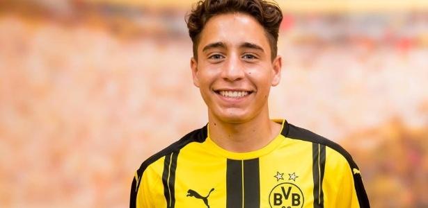 Emre Mor, meia-atacante, deixou o Nordsjaelland para atuar no futebol alemão