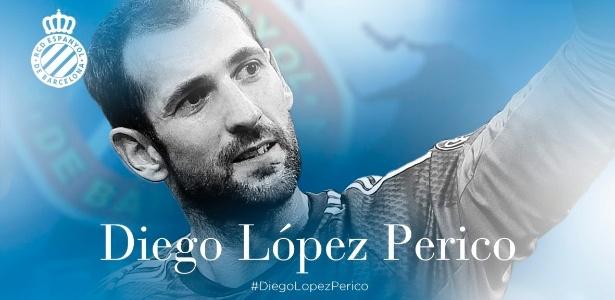 Diego López estava encostado no Milan