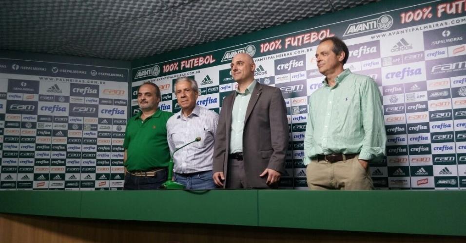 26.nov.2016 - Mauricio Galiotte foi aclamado neste sábado e será o próximo presidente do Palmeiras