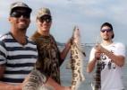 História de pescador? Varejão manda bem na pescaria e fisga até tubarão - Arquivo pessoal