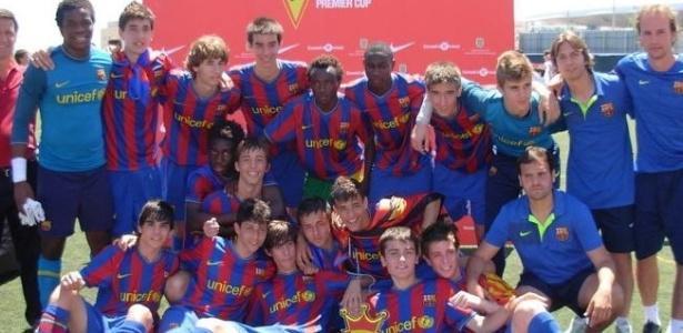 Geração 95 do Barcelona ganhou todos os títulos possíveis na base, mas não vingou no profissional