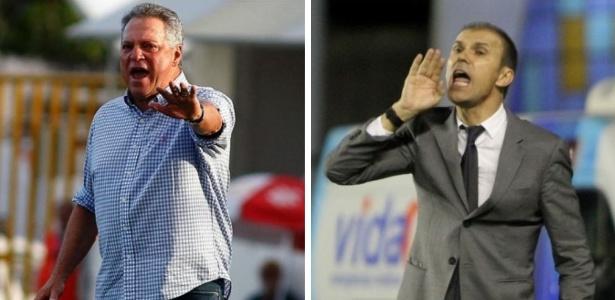 Abel Braga, do Flu, e Milton Mendes,do Vasco, são crias de seus respectivos clubes