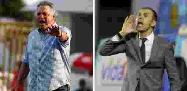 Abel Braga, do Flu, e Milton Mendes,do Vasco, são crias de seus respectivos clubes - Nelson Perez / Paulo Fernandes