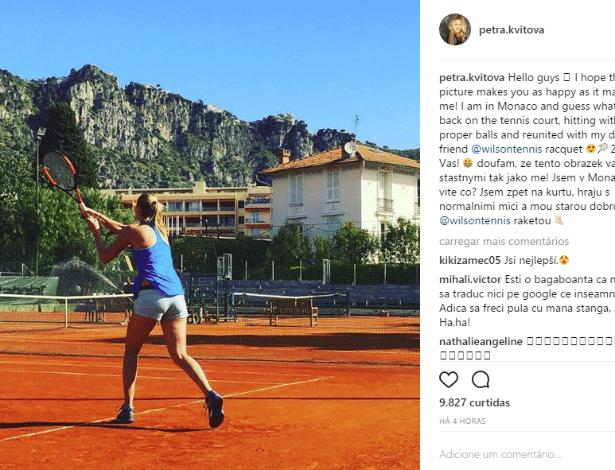 Kvitova Instagram