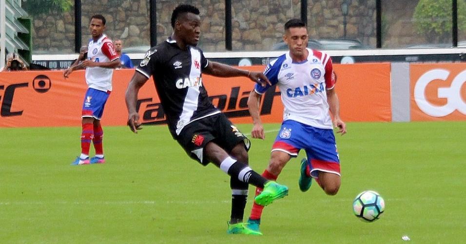 Paulão faz sua estreia pelo Vasco contra o Bahia, no Campeonato Brasileiro