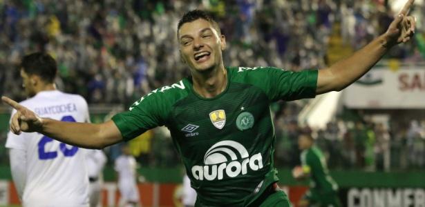 Andrei Girotto chegou à Chapecoense em janeiro e disputou 45 partidas
