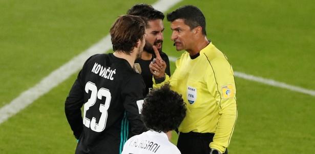 Ricci já havia sido árbitro de vídeo antes de usar o recurso em campo em jogo do Real Madrid