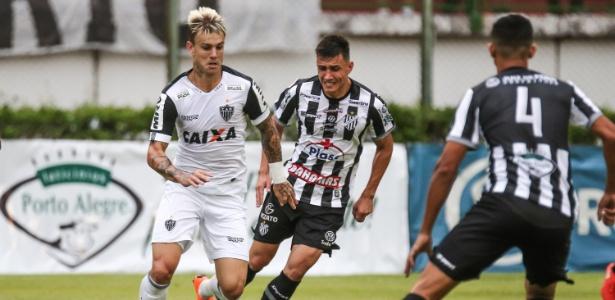 Roger Guedes reconhece que esperava jogo difícil contra o Tupi