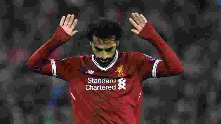 Salah não comemora Liverpool - Rui Vieira/AFP - Rui Vieira/AFP
