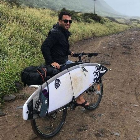 """Felipe Cesarano, o """"Gordo"""", surfista brasileiro de ondas grandes - Reprodução/Instagram"""