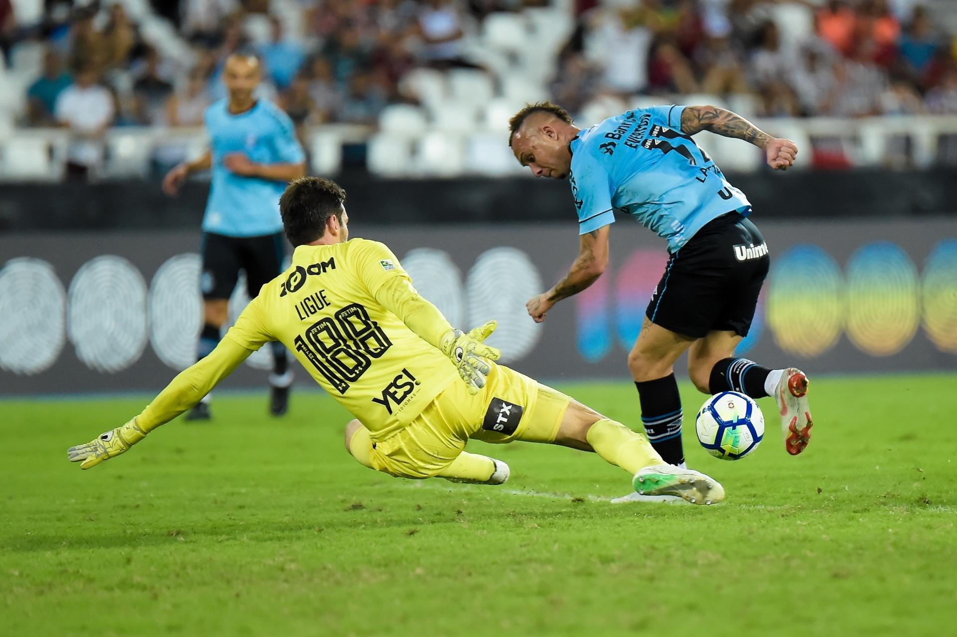 Everton faz gol de calcanhar para o Grêmio contra o Fluminense a32c585fdb7d1