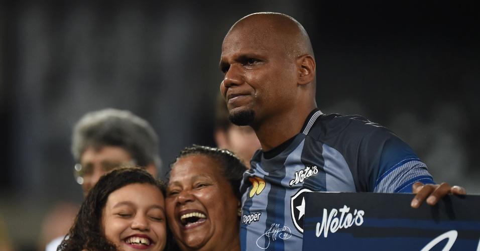 Jefferson se emociona antes de despedida pelo Botafogo