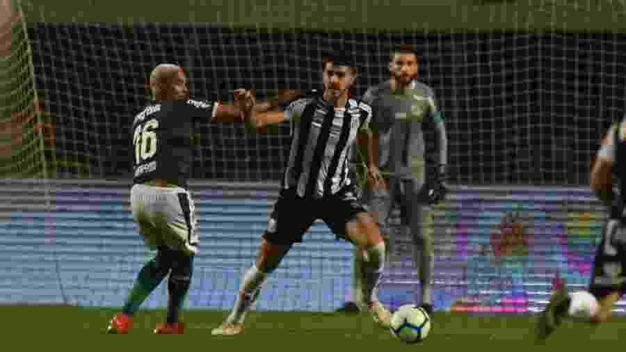 Gustavo Henrique, durante o jogo entre Santos e Palmeiras - Ivan Storti/Santos FC