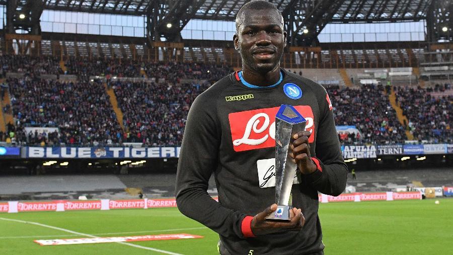 Koulibaly, que foi eleito melhor zagueiro do último Campeonato Italiano, é alvo de times europeus - SSC Napoli/Getty Images