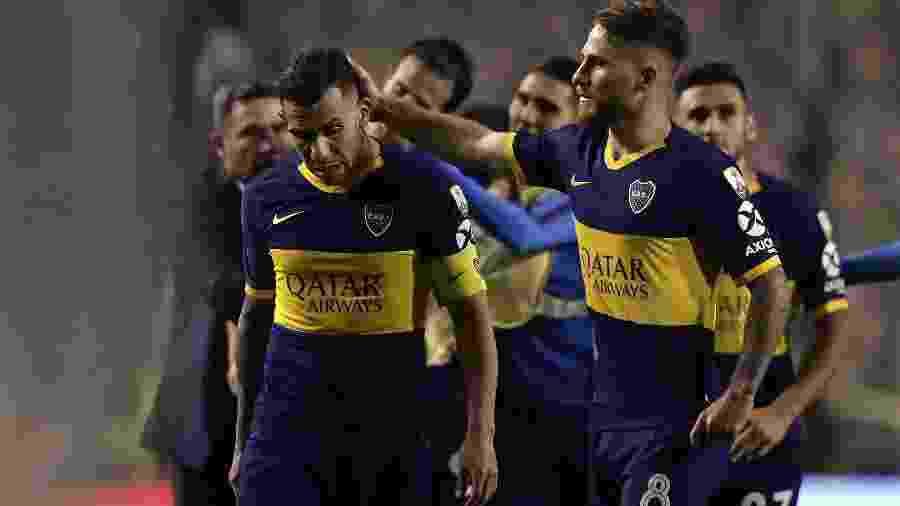 Carlos Tevez após Boca Juniors x River Plate - Alejandro Pagni/AFP