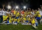 Brasil vira sobre o México no fim e conquista o 4º título no Mundial sub-17 - Miguel SCHINCARIOL / AFP
