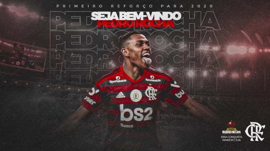 Flamengo anuncia Pedro Rocha como novo reforço  - Reprodução/twitter
