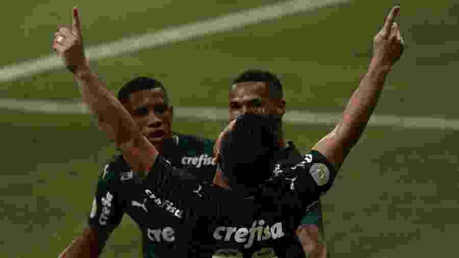 Willian celebra gol marcado pelo Palmeiras contra o Ceará: clube apoia a aprovação da MP do Mandante - Ettore Chiereguini/AGIF
