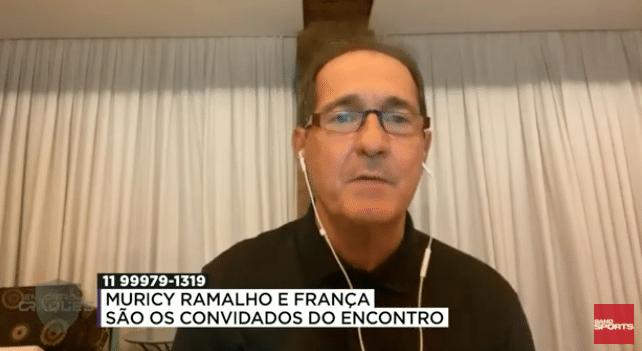 Muricy Ramalho em entrevista ao 'Encontro de Craques', do Band Sports